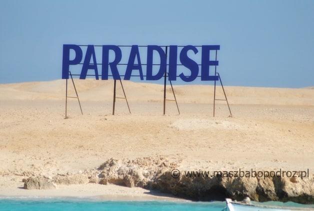 Egipt. Paradise Island.