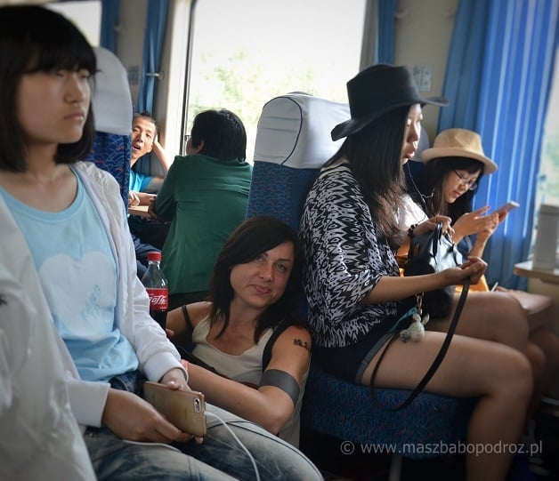Chiny pociągi