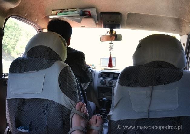 Chińskie taksówki.