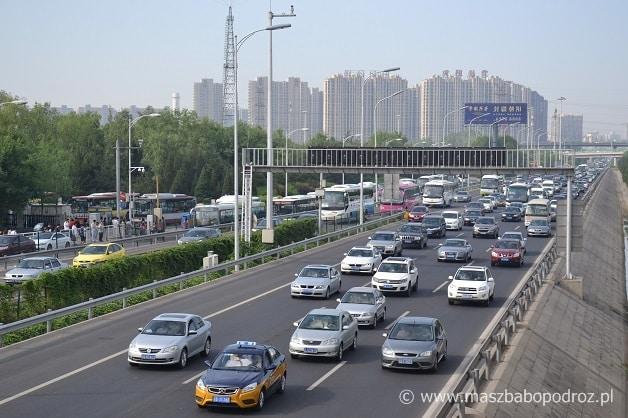 Dzielnica Wangjing. Pekin.