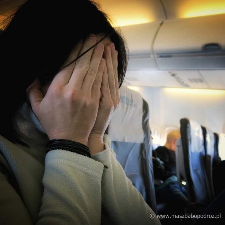 Spóźnić się na samolot