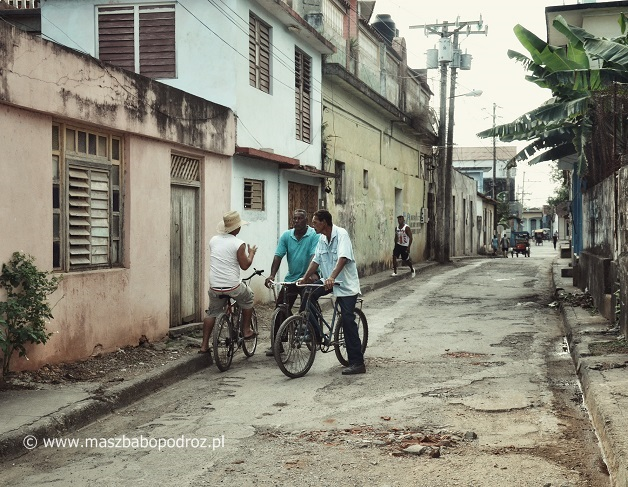 Jakość dróg na Kubie.