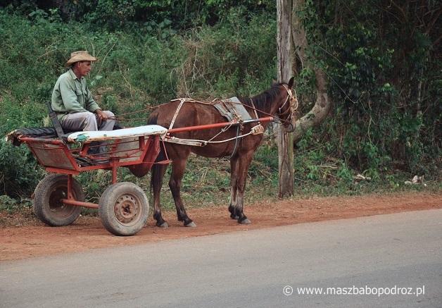 Autem przez Kubę.