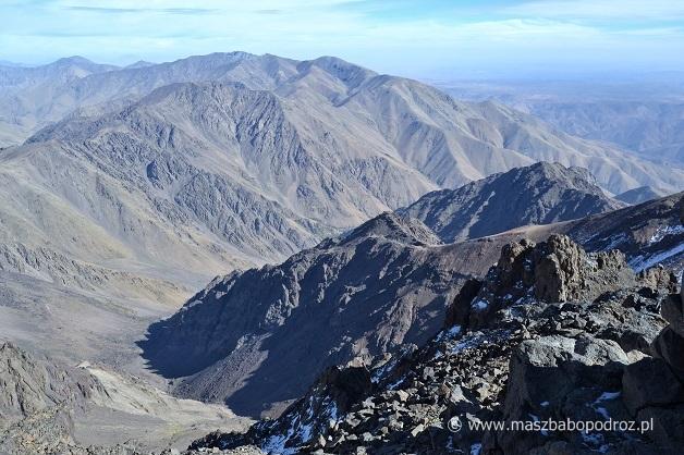 Jebel Toubkal Maroko szczyt
