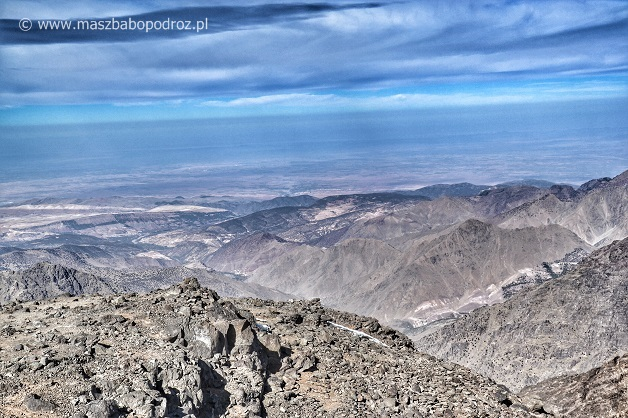 Dżabal Tubkal Maroko szczyt
