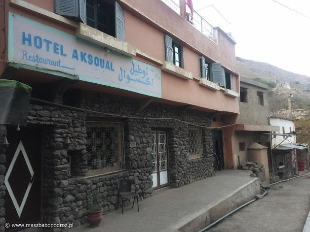 Hotel Aksoual. Imlil.