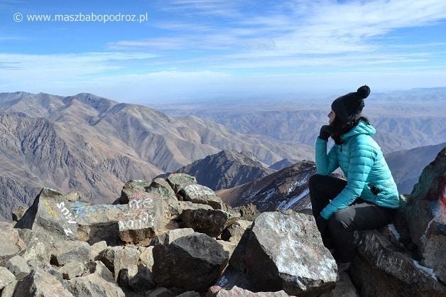 Jebel Toubkal szczyt