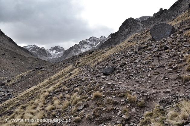 Jebel Toubkal. Szlak.