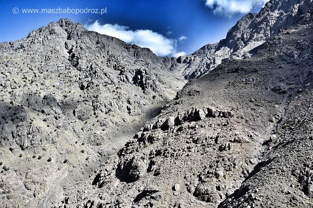Atlas Wysoki. Jebel Toubkal.