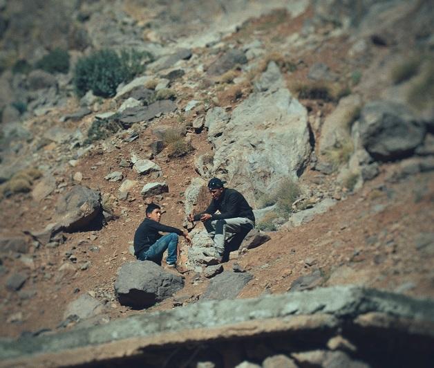 Sidi Chamharouch. Maroko.