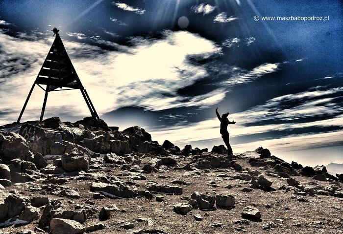 szczyt Jebel Toubkal