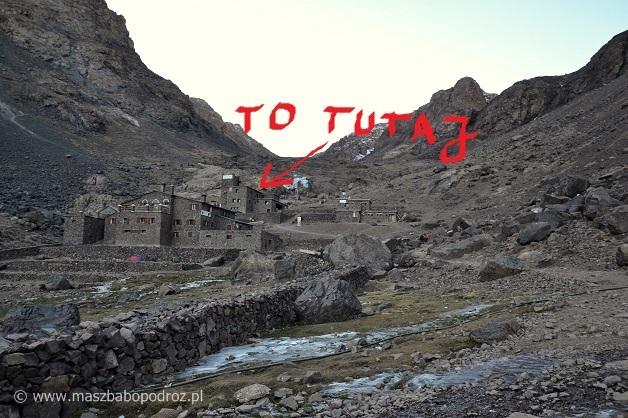 Schronisko Refuge du Toubkal.