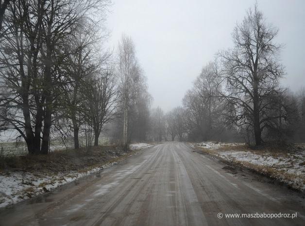 Najwyższy szczyt Łotwy - dojazd.