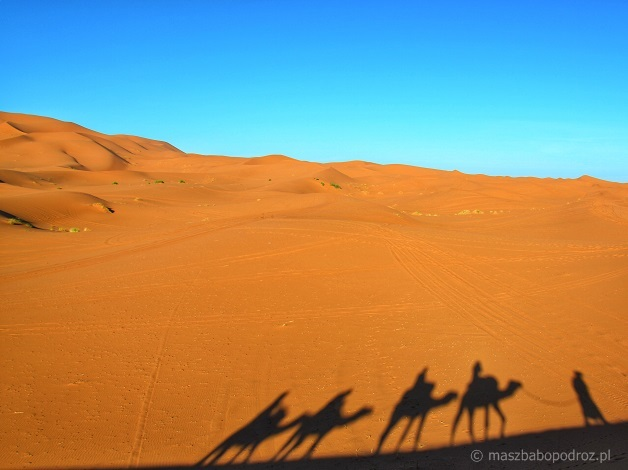 Pustynia - Maroko
