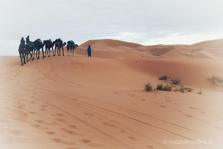 Pustynia Erg Chebbi Maroko