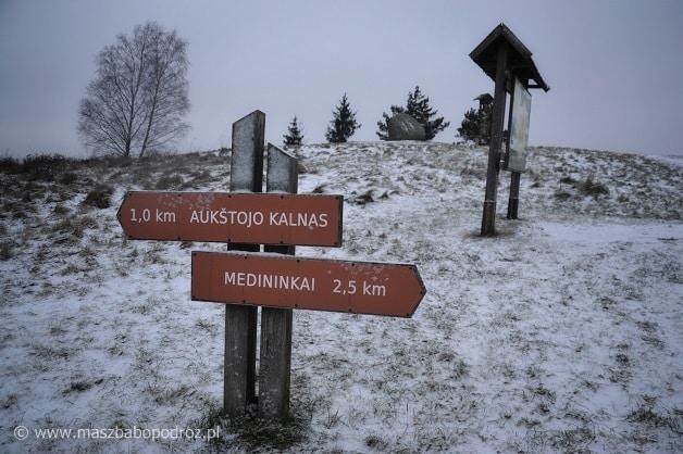Litwa. Dojazd do Wysokiej Góry.