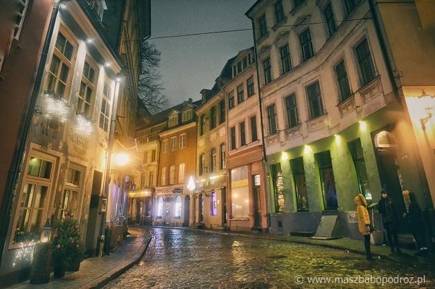 Stare Miasto w Rydze.