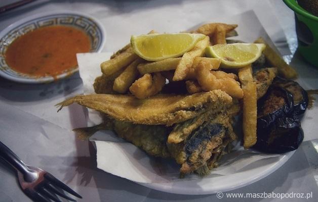 Marokańskie rybki.