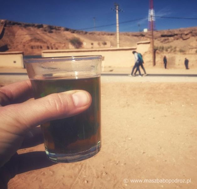 Marokańska herbata miętowa.
