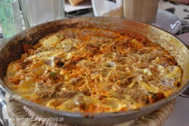 Marokański omlet.