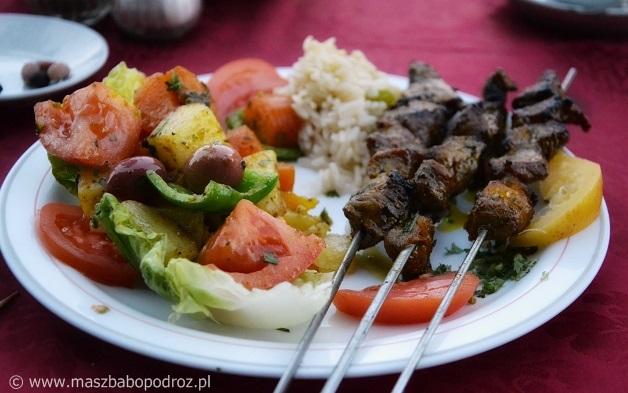 Marokańskie szaszłyki.