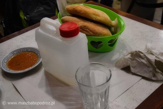 Maroko, jedzenie uliczne.