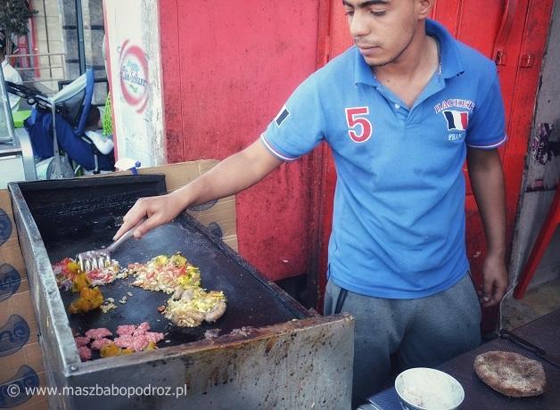 Uliczne garkuchnie. Maroko.
