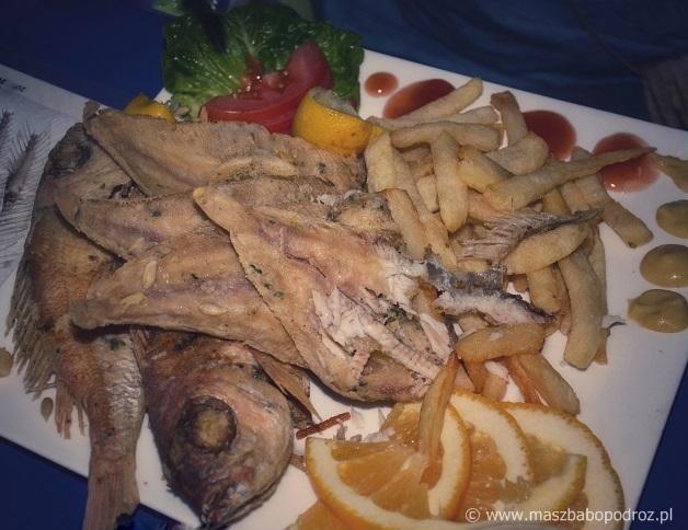 Jedzenie w Maroku.