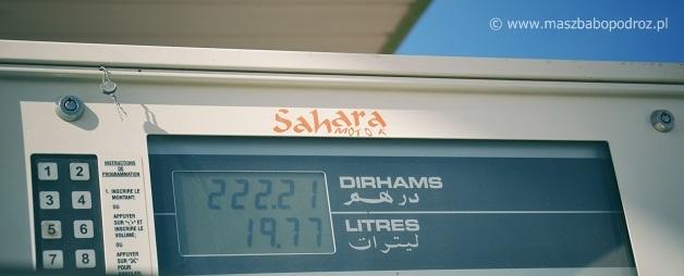 Ceny benzyny w Maroku