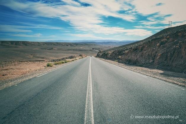 Drogi w Maroku