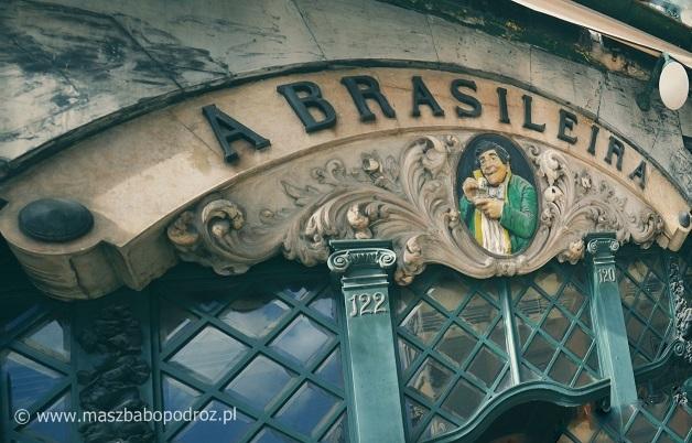 Cafe A Brasileira. Lizbona.