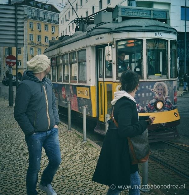 Lizbona. Tramwaj nr 28.