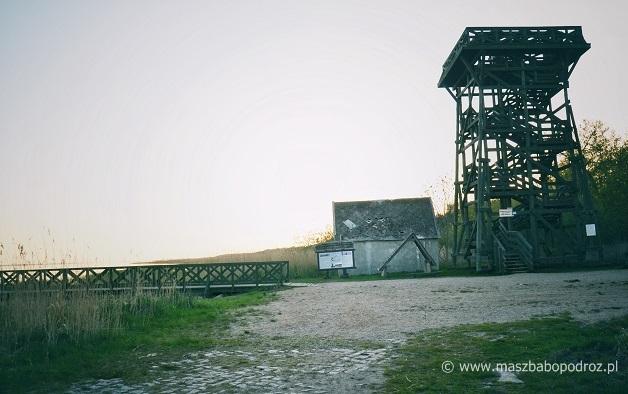 Słowiński Park Narodowy. Wieża widokowa.
