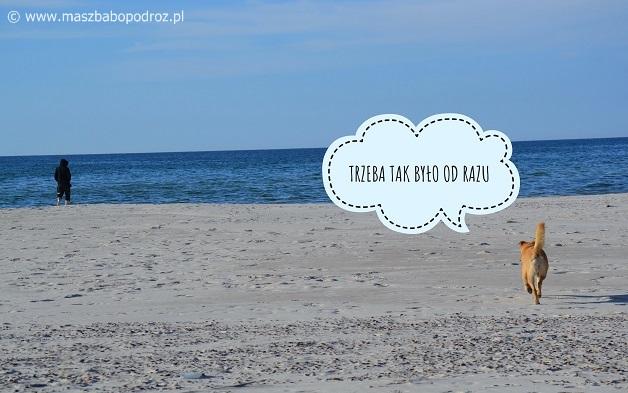 Słowiński Park Narodowy. Plaża.