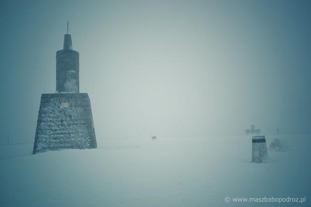 Najwyższy szczyt Portugalii kontynentalnej. Torre.