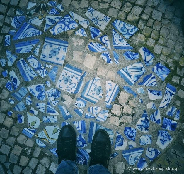 Lizbona. Azulejos.